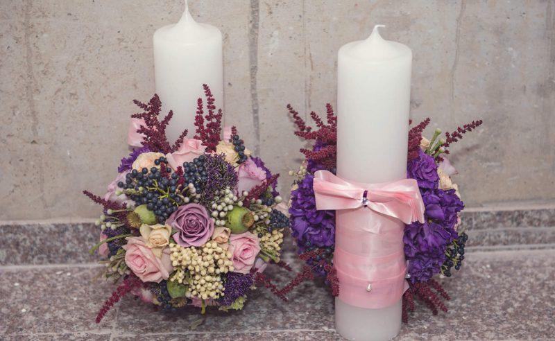 lumanari trandafiri roz mov miniroze somon maci viburnum berries astilbe visiniu trachelium mov lisianthus mov