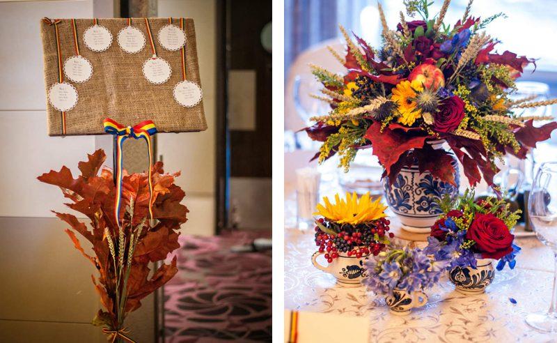aranjamente florale tematica rustica