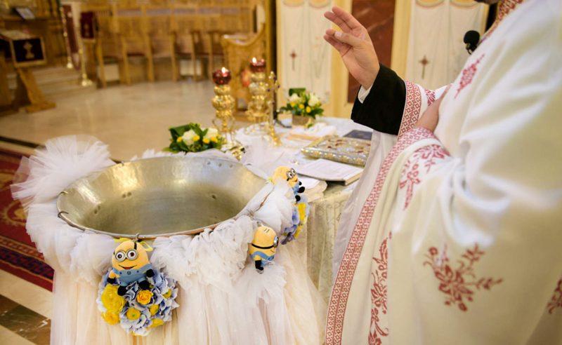 decor cristelnita botez tematic Minions