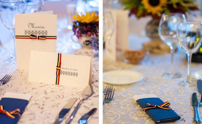 nunta tematica tricolor