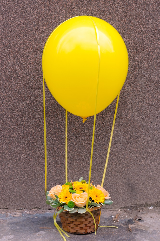 Botez tematic - Zbor cu balonul