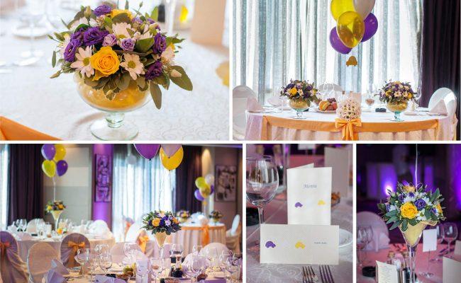 Botez-tematic-Purple-&-Yellow-Cars